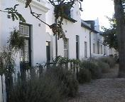 Historic houses are found in central Stellenbosch
